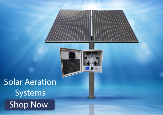 solar powered aeration